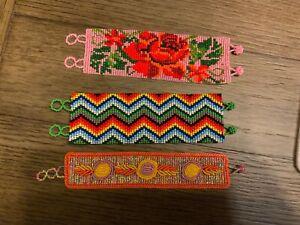 New Mexican Handmade Shakira Beaded Bracelet .