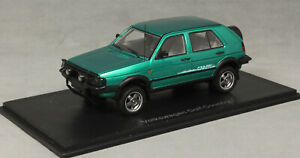 Neo Models Volkswagen VW Golf MkII Mk2 Country in Green Metallic 1990 49595 1/43