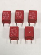 10 WIMA Metallised Polyester Capacitor mks2 5/% 63v 0,047uf 5mm 030864