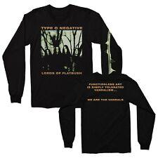 TYPE O NEGATIVE cd cvr OCTOBER RUST Official LONG SLEEVE SHIRT LRG new