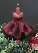 Red Dress Form - Bearington Bears Collection ~ NEW