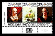 MICRONESIA - 1992 - 500° anniversario della scoperta dell'America C. Colombo