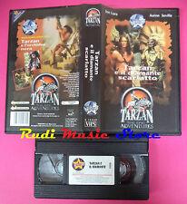 VHS film TARZAN E IL DIAMANTE SCARLATTO The epic STARDUST (F62) no dvd