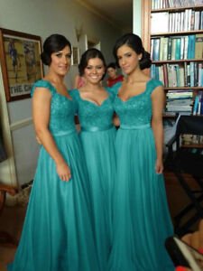 Formal Chiffon Evening Bridesmaid Dresses Party Ball Prom Gown Dress 6-24