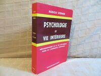 psychologie et vie intérieure par Rudolf Steiner voies de l'expérience