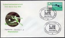040 - Germany 1974 - FIFA - World Cup - Dusseldorf - Yugoslavia - Sweden - Cover