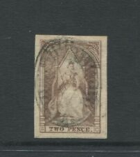 VICTORIA  1852 2D QUEEN ON THRONE SG18B  LETTERS Z C   VERY FINE USED