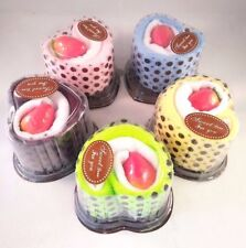 5 Mini Cupcake Towel Cotton Hand Face Towel Party Gift