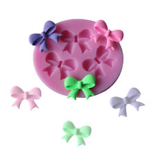 3 bowknots, bow, bows Silicone Mold Mould for cake Icing decoupage craft  M43