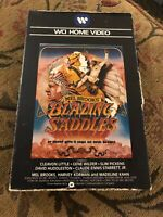 Mel Brooks Blazing Saddles VHS WCI Home Video 1974 1979