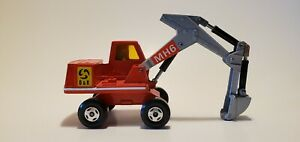 1970  Lesney Matchbox Excavator MH6 D & k  Approx. 5-1/2 inches in length