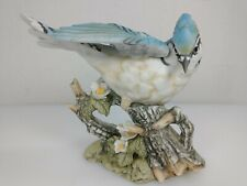 New ListingMasterpiece Porcelain Blue Jay Figurine 1985 by Homco