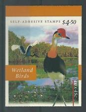 Australie 1997 wetlands birds  boekje  postfris/mnh