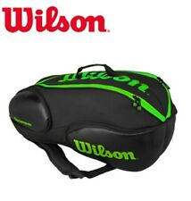 Wilson Vancouver Tennis Blade Backpack 9 Pack Sports Black 2017 Wrz-842709 New