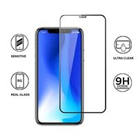 New 10D Full Cover Curved Tempered Glass Screen Protector For iPhone X XS XS Max
