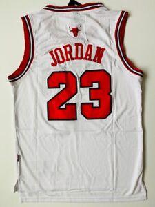 Michael Jordan #23 Chicago Bulls Jersey Men Size S Small Free Ship Free Return