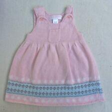 Janie & Jack Girls Dress Jumper 3-6 Months Pink Angora Blend