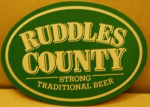 Old Ruddles County Beer Pub beer mat -