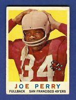 1959 Topps Football Joe Perry #80 San Francisco 49ers VG-EX