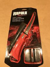 "Rapala Fish Pro Filet Knife 6"" Fpf6 - Rapala Fishing Fillet Knife With Sharpener"