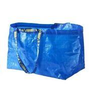 IKEA FRAKTA LARGE BLUE BAG IDEAL FOR SHOPPING, LAUNDRY, STORAGE