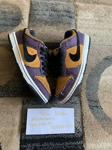 Nike Sb Dunk Low Goofy Boy 304292-751 Chutney Violet Purple Denim QS US4