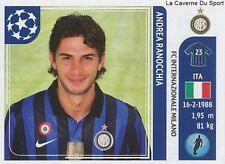 N°076 ANDREA RANOCCHIA # ITALIA FC.INTER STICKER CHAMPIONS LEAGUE 2012