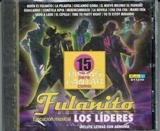Fulanito 15 Pisatas Para Cantar   BRAND NEW SEALED  (INCLUYE LETRA)  CD
