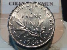 CIRA(59)(28) - 1 FRANC - SEMEUSE - 1964 - RARE QUALITE SPL/SUP+ !