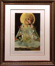"""AFTER Salvador Dali """"Vergin of Guadalupe"""" Lithograph, custom framed Submit Offer"""
