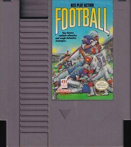NES PLAY ACTION FOOTBALL (1989) nes nintendo four-score us NTSC USA IMPORT