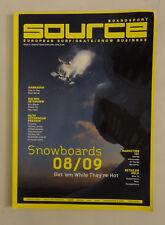 BOARDSPORT SOURCE MAGAZINE EURO SURF SKATE SNOW BUSINESS ISSUE 33 WINTER 2008