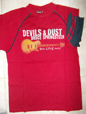 T SHIRT MAGLIA DEVILS & DUST BRUCE SPRINGSTEEN TOUR 2005 MANICA CORTA TG L