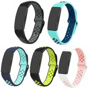 Air-Hole Silicone Strap Replacement Wristband For Fitbit Inspire& Hr &Ace 2 Band