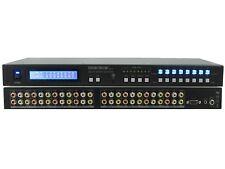 Shinybow SB-5548LCM 8X8 Composite Video Matrix Switcher w Stereo Audio