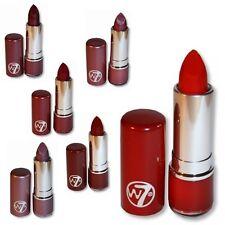 W7 MakeUp Make Up - Fashion Lipstick Reds Colours Shades Cosmetics - Set of Six