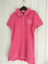 Gilly Hicks Pink Collared T Shirt Size XS