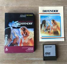 Atari 400/800/XE/XL -- Defender -- Boxed Game -- RX8025