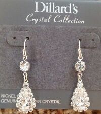 Teardrop Earrings Dillards Crystal Collection