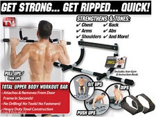 Iron Gym Total Upper Body Workout Bar Fitness Exercise workout