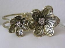 Fossil Brand Global Nomad Gold Tone Cuff Bracelet