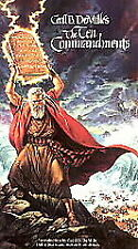 The Ten Commandments (VHS, 1992, Letterboxed 35th Anniversary Collectors...