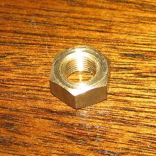 DIN934 ISO8673 Sechskantmuttern m. Feingewinde Messing MS M8x0,75 SW13, 12 Stück