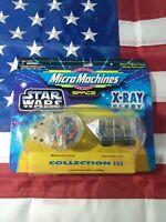 Star Wars Galoob Micro Machines X-Ray Fleet Collection III Millennium Falcon