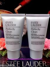 "2X Estee Lauder Perfectly Clean Multi-Action Foam Cleanser ◆30mlX2◆ ""POST FREE!"""