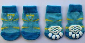 Dog Puppy Anti-slip Socks - For Tiny & Small Breeds - Choose Design - S M L XL