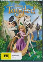 Disney Tangled DVD NEW Region 4