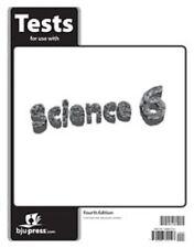 BJU Press- Science  6 Tests (4th ed.) 281345