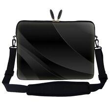 Meffort Inc 17 17.3 inch Neoprene Laptop Sleeve Bag Carrying Case with Hidden