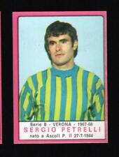 figurina CALCIATORI PANINI 1967/68 REC. VERONA PETRELLI